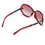 NANKA Square Anti-UV Polarized Sunglasses - RED