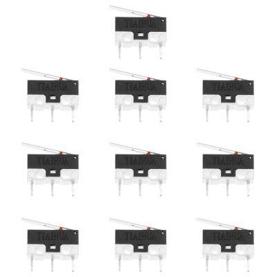 0.5A 125 / 250V 3Pin Mini Micro Switches for DIY  -  10PCS