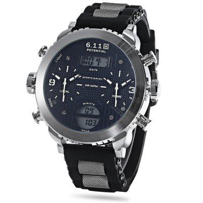 6.11 8159 Men Digital Quartz Watch