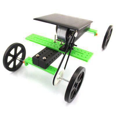 DIY Solar Car Simple 3D Model Science Toy with Solar PanelSolar Powered Toys<br>DIY Solar Car Simple 3D Model Science Toy with Solar Panel<br><br>Completeness: DIY Module<br>Material: ABS<br>Package Contents: 1 x DIY Car Accessory Set, 1 x Chinese User Manual, 1 x DIY Car Accessory Set, 1 x Chinese User Manual<br>Package size: 16.00 x 11.00 x 7.50 cm / 6.3 x 4.33 x 2.95 inches<br>Package weight: 0.0520 kg<br>Product size: 15.00 x 10.00 x 6.50 cm / 5.91 x 3.94 x 2.56 inches<br>Type: Solar Powered Cars