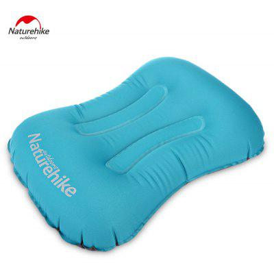 NatureHike Inflatable Pillow - PEACOCK BLUE
