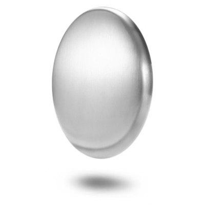 Magic Mini Oval Shape Stainless Steel Soap for Removing Odor