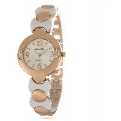 Chaoyada Rhinestone Female Quartz Watch