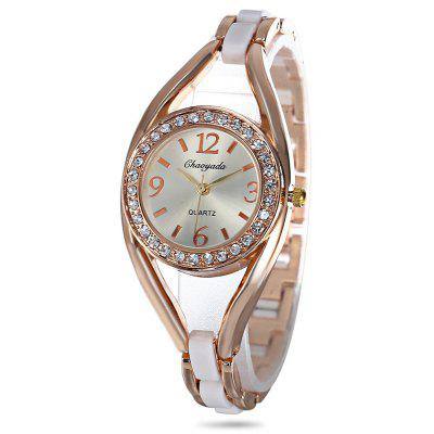 Chaoyada Rhinestone Women Quartz Watch