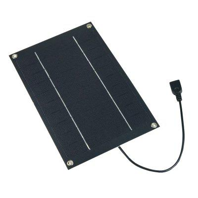 SUNWALK 6W 5V Monocrystalline Silicon Solar Charger Panel