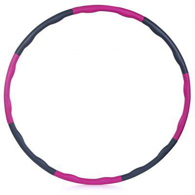 8-Segment 95cm Wave Shaped Adult Abnehmbare Fitness Hoop