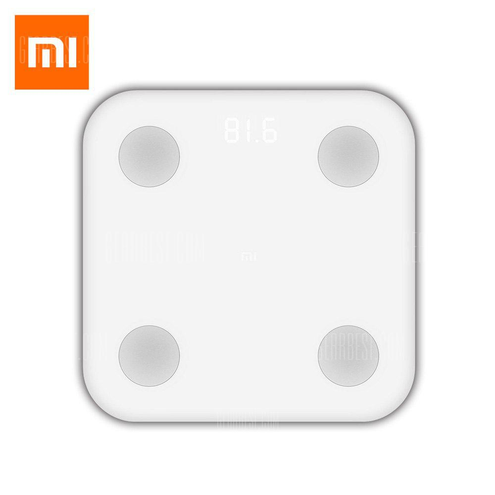 Xiaomi XMTZC02HM Bluetooth 4.0 Smart Weight Scale - WHITE NORMAL VERSION
