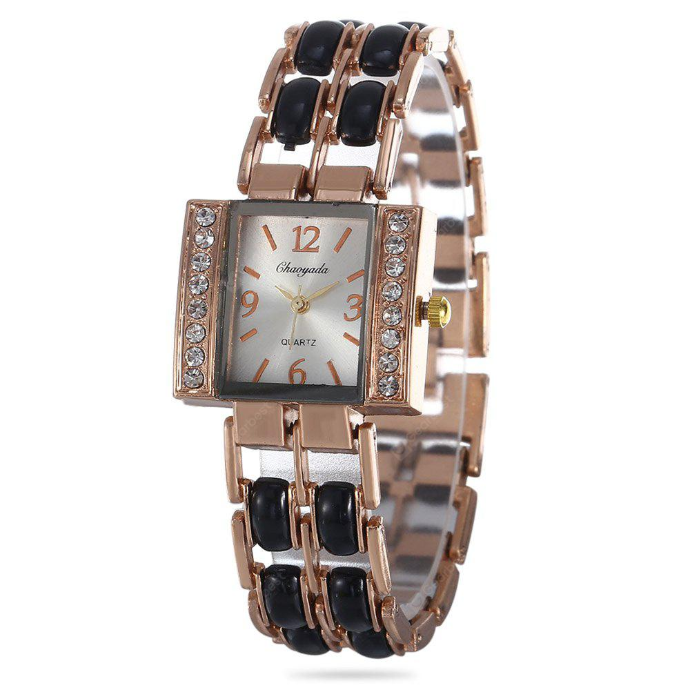 Chaoyada Rhinestone Quartz Watch for Women