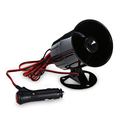 15W 12V Alarm Sound Horn Car Speaker with Charger