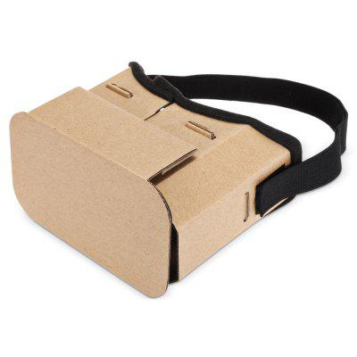 DIY 3D Virtual Reality VR Glasses Cardboard