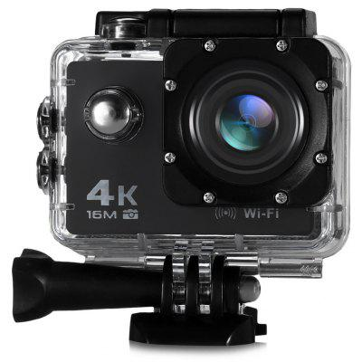 V3 4K WiFi Sports Camera 16MP - BLACK EU PLUG