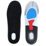 Cuttable Shock-resistant Running Insoles for Outdoor Sports
