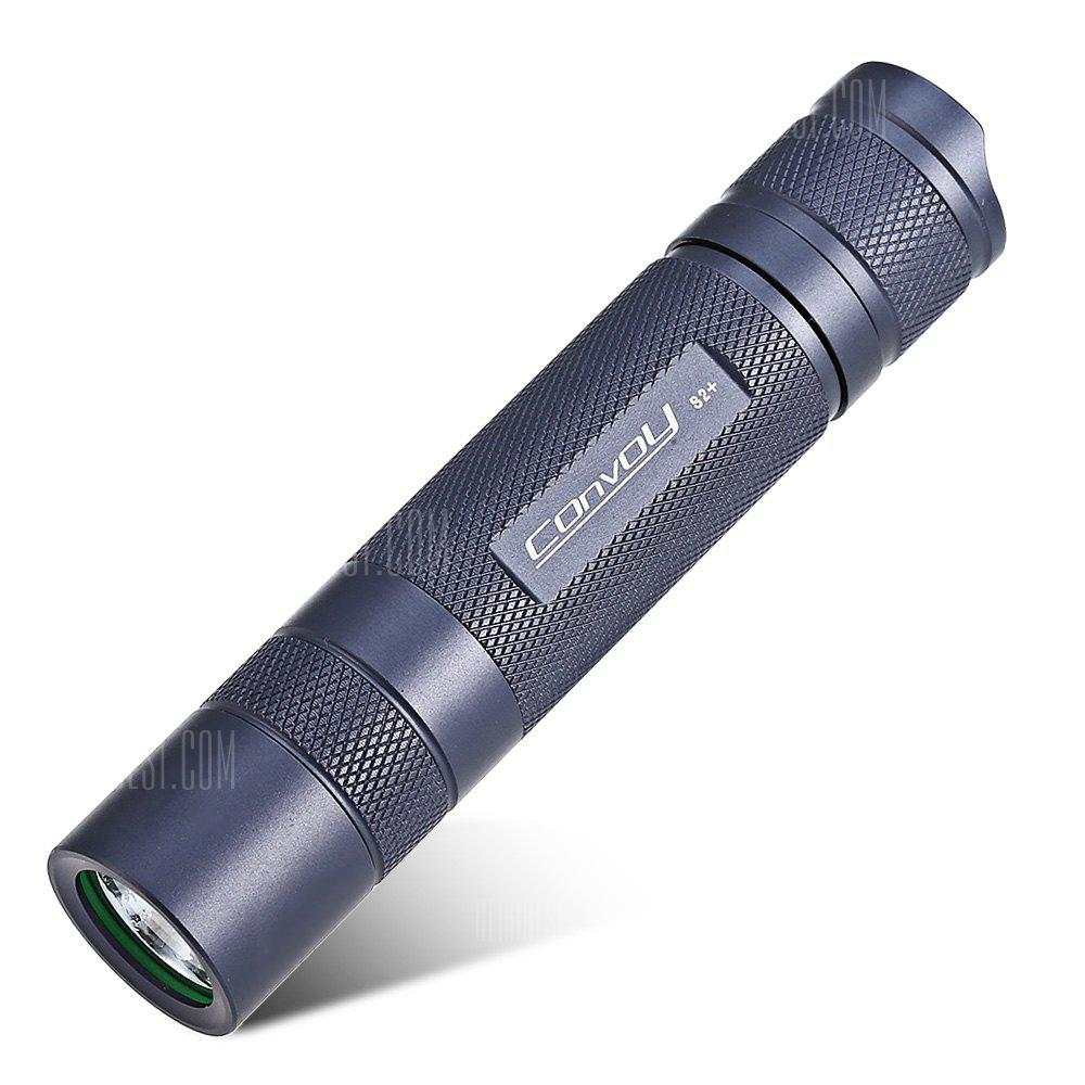 Convoy S2+ LED Flashlight PASTEL BLUE