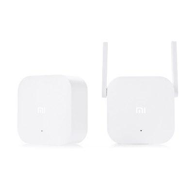 Original Xiaomi WiFi HomePlugWireless Routers<br>Original Xiaomi WiFi HomePlug<br><br>Brand: Xiaomi<br>Brand Name: Xiaomi<br>Built-in VPN: Not Support<br>DC Port: No<br>Firewall Settings: Support<br>Frequency Range: 100Hz - 16KHz<br>Gain dBi: 3dBi<br>Interface: LAN<br>LAN Ports: Under 2 ports<br>Max. LAN Data Rate: 300Mbps<br>Network Communication: WiFi<br>Network Protocols: IEEE 802.11n<br>Package size: 22.00 x 15.00 x 7.00 cm / 8.66 x 5.91 x 2.76 inches<br>Package weight: 0.4250 kg<br>Packing List: 1 x Host, 1 x Sub-machine<br>Product weight: 0.1860 kg<br>Quantity of Antenna: 2<br>Router Connectivity Type: Wireless<br>Suitable for: Pad, PC, Mobile<br>Supports System: Android, IOS<br>Transmission Rate: 300Mbps<br>Type: Router<br>Usage: Home use<br>WiFi Network Frequency: 2.4GHz<br>Wireless Security: WPA-PSK, WPA2-PSK<br>Wireless Standard: Wireless AC,Wireless G,Wireless N