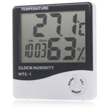 HTC - 1 Digital LCD Electronic Thermometer Hygrometer