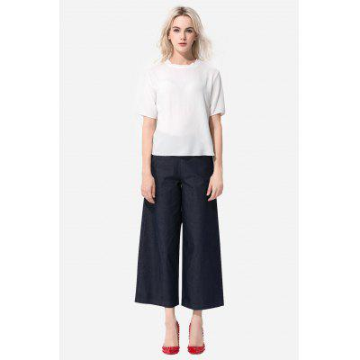 High Waist Wide Leg Pants for Women