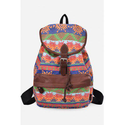 Buy JACINTH VERTICAL Douguyan Floral Backpack for $29.58 in GearBest store