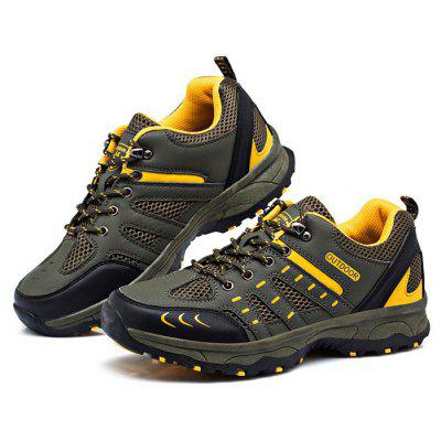 Buy ARMY GREEN 43 Men Hiking Shoes for $27.41 in GearBest store