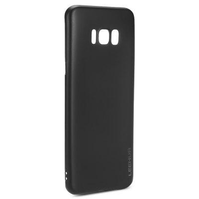 LeeHUR Metallic Paint Cover CaseSamsung S Series<br>LeeHUR Metallic Paint Cover Case<br><br>Color: Black<br>Compatible with: Samsung Galaxy S8<br>Features: Back Cover, Anti-knock<br>Material: TPU<br>Package Contents: 1 x Phone Case<br>Package size (L x W x H): 18.50 x 11.50 x 3.00 cm / 7.28 x 4.53 x 1.18 inches<br>Package weight: 0.0660 kg<br>Product size (L x W x H): 15.00 x 7.00 x 0.90 cm / 5.91 x 2.76 x 0.35 inches<br>Product weight: 0.0150 kg<br>Style: Solid Color, Modern