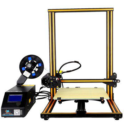 Creality3D CR - 10 3D Desktop DIY Printer3D Printers, 3D Printer Kits<br>Creality3D CR - 10 3D Desktop DIY Printer<br><br>Brand: Creality3D<br>File format: STL, OBJ, JPG, G-code<br>Host computer software: Cura<br>LCD Screen: Yes<br>Material diameter: 1.75mm<br>Memory card offline print: SD card<br>Model: CR - 10<br>Nozzle diameter: 0.4mm<br>Package size: 64.00 x 53.00 x 27.00 cm / 25.2 x 20.87 x 10.63 inches<br>Package weight: 14.0000 kg<br>Packing Contents: 1 x Creality3D CR - 10 3D Desktop DIY Printer Kit<br>Packing Type: unassembled packing<br>Print speed: 150 mm / s<br>Product size: 61.50 x 60.00 x 49.00 cm / 24.21 x 23.62 x 19.29 inches<br>Product weight: 13.0000 kg<br>Type: DIY