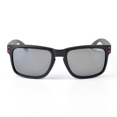 SENLAN PC SunglassesMens Sunglasses<br>SENLAN PC Sunglasses<br><br>Brand: SENLAN<br>Ear-stems Length: 13.5cm<br>Features: Anti-UV<br>Frame Color: Black<br>Gender: Unisex<br>Lens height: 4.5cm<br>Lens material: PC<br>Lens width: 5.8cm<br>Nose bridge width: 1.4cm<br>Package Contents: 1 x SENLAN Sunglasses, 1 x Glasses Box, 1 x Glasses Cleaning Cloth<br>Package Dimension: 15.50 x 6.00 x 5.00 cm / 6.1 x 2.36 x 1.97 inches<br>Package weight: 0.1230 kg<br>Product Dimension: 13.50 x 4.50 x 4.00 cm / 5.31 x 1.77 x 1.57 inches<br>Product weight: 0.0330 kg<br>Whole Length: 13.5cm