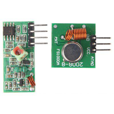 Buy COLORMIX 433MHz RF Transmitter Module and Receiver Link Kit for Arduino ARM MCU WL DIY for $1.46 in GearBest store
