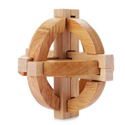 Intelligent Wooden Toy Interlocking Jigsaw Puzzle
