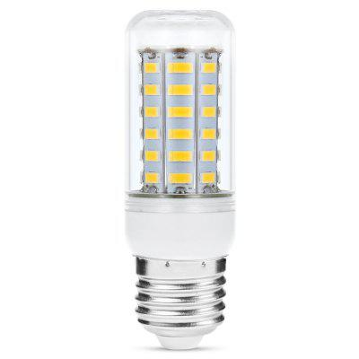 Sencart E27 11W 2200Lm 56 x SMD 5730 Soft White Light Transparent LED Corn Bulb ( 220  -  240V )