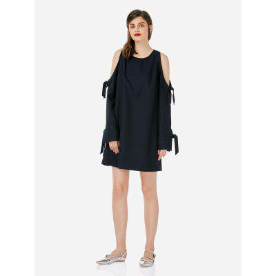 Buy NAVY BLUE XL Women Navy Blue Dress for $29.66 in GearBest store