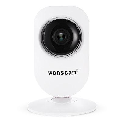Wanscam HW0026 720P WiFi IP CameraIP Cameras<br>Wanscam HW0026 720P WiFi IP Camera<br><br>Alarm Notice: Email Photo,FTP Photo<br>APP: E-View7<br>APP Language: Chinese,Dutch,English,French,German,Italian,Japanese,Portuguese,Russian,Spanish,Swedish<br>Audio Input: Built-in mic.<br>Audio Output: Built-in speaker<br>Backlight Compensation: Yes<br>Brand: WANSCAM<br>Color: White<br>Compatible Operation Systems: Mac OS,Microsoft Windows 98 / ME / 2000 / XP,Windows 7,Windows 8<br>Connection: Wireless<br>Environment: Indoor<br>FOV: 90 degree<br>Frame Rate (FPS): 1 - 25fps<br>Image Adjustment: Brightness,Contrast,Sharpness<br>Infrared Distance: 10m<br>Infrared LED: 10 pcs LEDs<br>IP camera performance: Interphone, Backlight Compensation, Motion Detection, Night Vision, Real-time video capture and recording, Remote Control, Screenshot, Support video control<br>IP Mode: Dynamic IP address, static IP address<br>Language: Danish,Dutch,English,Finnish,French,German,Indian,Japanese,Korea,Polish,Portuguese,Russian,Simplified Chinese,Swedish<br>Local-storage: Micro SD card up to 64GB<br>Maximum Monitoring Range: 10 - 15m<br>Minimum Illumination: 0.5 lLux<br>Mobile Access: Android,IOS<br>Model: HW0026<br>Motion Detection Distance: 10 - 15m<br>Online Visitor (Max.): 6<br>Operate Temperature (?): -10 - 50 Deh.C<br>Package Contents: 1 x IP Camera, 1 x English User Manual, 1 x Accessories Kit, 1 x Power Adapter ( EU Plug )<br>Package size (L x W x H): 14.20 x 9.00 x 8.00 cm / 5.59 x 3.54 x 3.15 inches<br>Package weight: 0.2400 kg<br>Pixels: 1MP<br>Product size (L x W x H): 8.00 x 8.00 x 11.70 cm / 3.15 x 3.15 x 4.61 inches<br>Product weight: 0.1500 kg<br>Protocol: DDNS,DHCP,FTP,LAN,P2P,RTSP,TCP,UPNP<br>Resolution: 1280 x 720<br>S/N Ration: 48dB<br>Sensor: CMOS<br>Sensor size (inch): 1/4<br>Shape: Mini Camera<br>Technical Feature: WiFi, Pan/Tilt/Zoom, Infrared<br>Video Compression Format: H.264<br>Video format: AVI<br>Video Resolution: 720P<br>Video Standard: NTSC,PAL<br>Waterproof: No<br>Web Browser: Firefox,Google Chrome,IE<br>White Balance: Yes<br>WiFi Distance: 100m without obstacles<br>Wireless: WiFi 802.11 b/g/n<br>Working Voltage: 5V / 1A