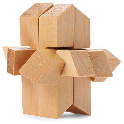 Intelligent Wooden Interlocking Jigsaw Puzzle Toy