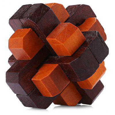 Wooden Strip Style Puzzle