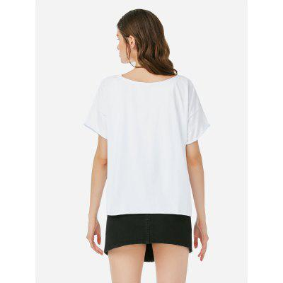 Female Crew Neck White T ShirtTank Tops<br>Female Crew Neck White T Shirt<br>
