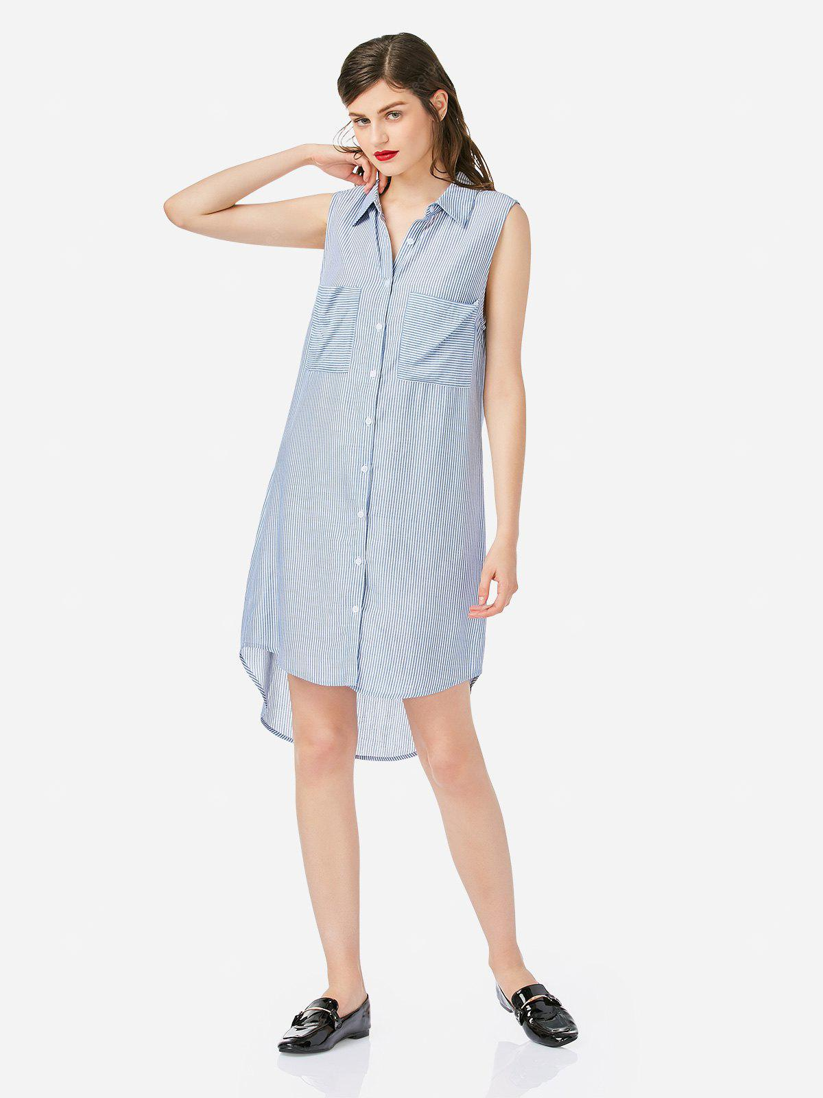 Women Blue Shirt Dress