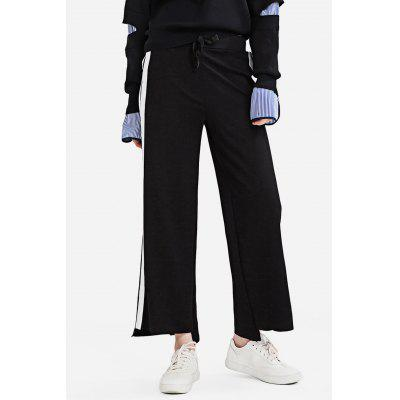 Dadayuga Simple Style  Loose-fitting Flared Pants for Women