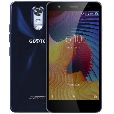 Buy SAPPHIRE BLUE Geotel Note 4G Phablet for $108.73 in GearBest store
