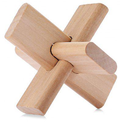 Interlocking Jigsaw Puzzle Wooden Intelligent Toy