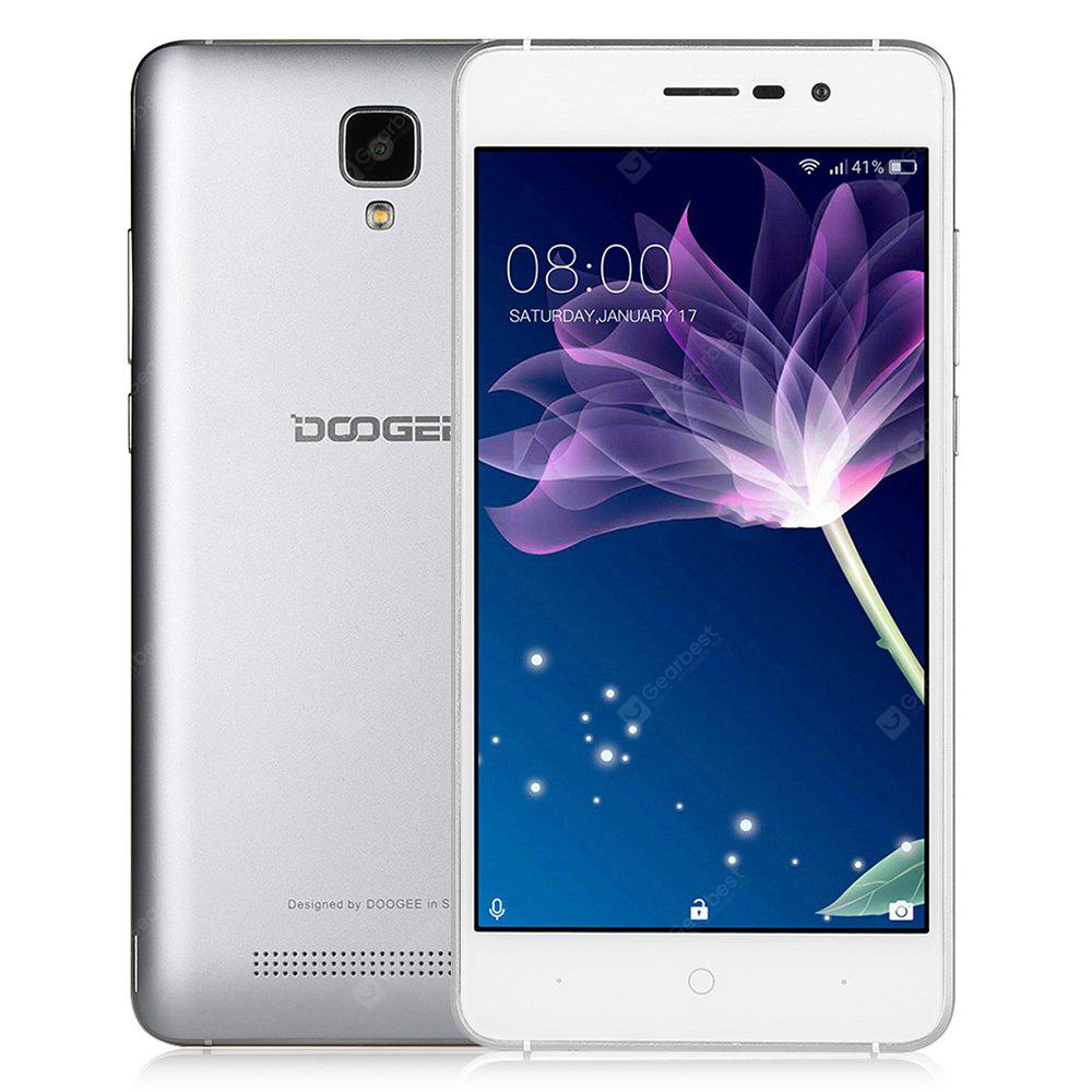 Doogee X10 3G Smartphone 5.0 inch Android 6.0 MTK6570 Dual Core 1.0GHz 512MB RAM 8GB ROM 3360mAh Battery Dual ID Account