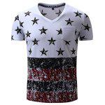 FREDD MARSHALL Printed Front Pocket T Shirts - COLORMIX