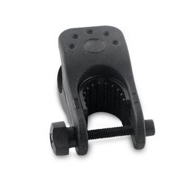 Universal Bicycle Flashlight Mount Clip Clamp Bike Torch Holder Clip