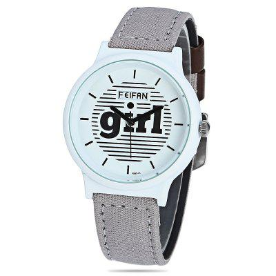 FEIFAN F085 - 4L Round Dial Women Quartz Watch