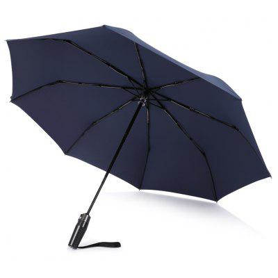 SAIVEINA Windproof Strong Durable Umbrella Automatic Open Close Folding Reinforced Canopy