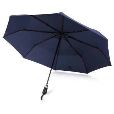 SAIVEINA 210T Windproof Strong Durable Umbrella Automatic Open Close Folding Reinforced Canopy