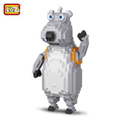 LOZ Cartoon Animal Figure DIY Building Brick - 690pcs / set