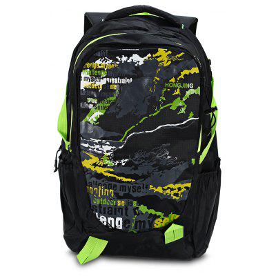 Buy GREEN HONGJING 1040 Nylon 40L Camping Mountaineering Backpack for $20.21 in GearBest store