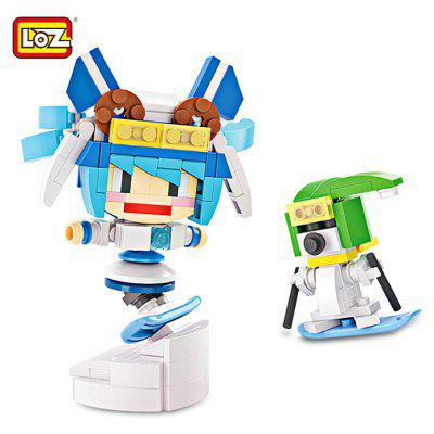 LOZ Cartoon Figure Theme DIY Building Brick