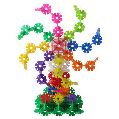 MINGTA 300pcs Snowflake Sheet Educational Toy