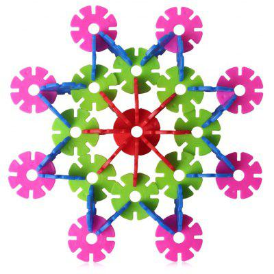 MINGTA 600Pcs Snowflake Sheet Toy