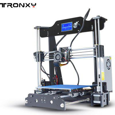 Tronxy X8 220 x 220 x 200mm Desktop DIY 3D Printer alfawise u10 3d printer 40 x 40 x 50cm printing size diy kit
