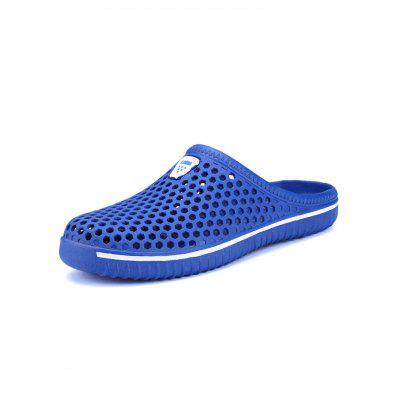 Honeycomb Environmental Beach SlippersMens Slippers<br>Honeycomb Environmental Beach Slippers<br><br>Contents: 1 x Pair of Shoes<br>Decoration: Hollow Out<br>Function: Slip Resistant<br>Materials: PU, Rubber<br>Occasion: Daily<br>Package Size ( L x W x H ): 33.00 x 22.00 x 11.00 cm / 12.99 x 8.66 x 4.33 inches<br>Style: Comfortable, Casual<br>Type: Slippers<br>Upper Material: Mesh